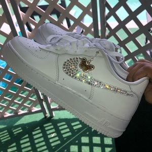 RHINESTONE NIKE AIR FORCE 1